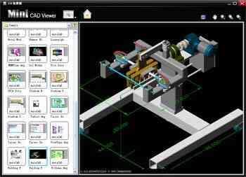 迷你CAD图纸查看器 不安装AutoCAD也能看DWG图纸